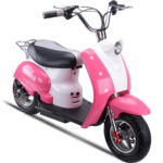 MotoTec Electric Moped 24v Pink