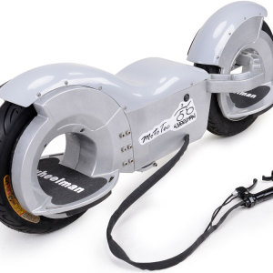 MotoTec Wheelman V2 1000w Electric Skateboard Silver 3
