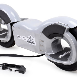 MotoTec Wheelman V2 1000w Electric Skateboard Silver 4