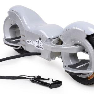 MotoTec Wheelman V2 1000w Electric Skateboard Silver 5