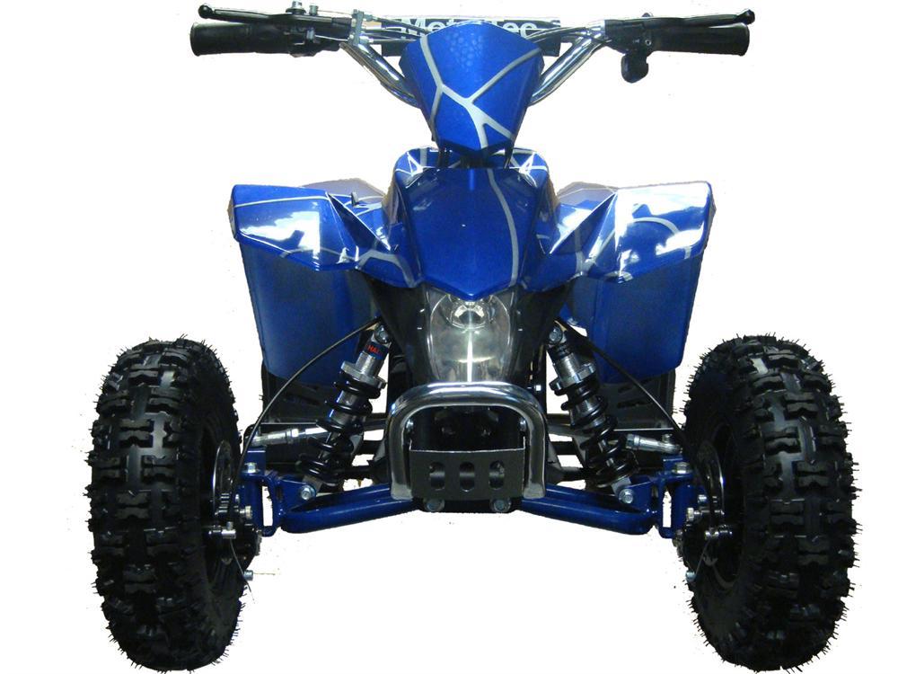 Electric Mini Quad Atv V3 24v Red Blue White