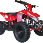 Mototec Electric Mini Quad ATV V3 Red