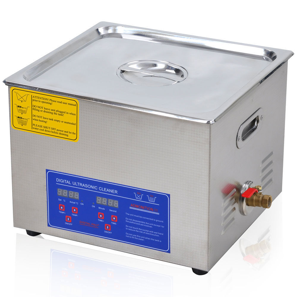 15 Liter Digital Ultrasonic Cleaning Machine Stainless