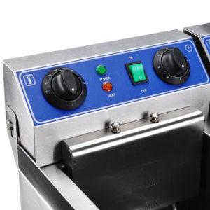20 Liter Commercial Deep Fryer 4
