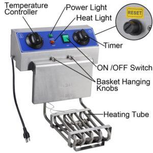 20 Liter Commercial Deep Fryer 6
