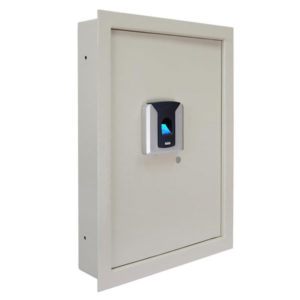 Biometric Fingerprint Wall Safe Beige