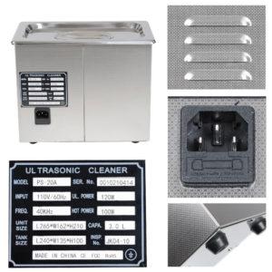 3 Liter Digital Ultrasonic Cleaning Machine 5