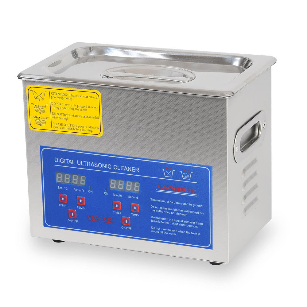 3 Liter Digital Ultrasonic Cleaning Machine Stainless