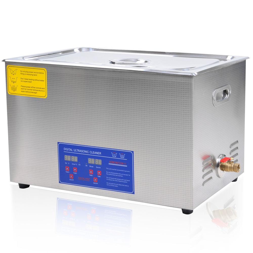 30 liter digital ultrasonic cleaning machine stainless. Black Bedroom Furniture Sets. Home Design Ideas
