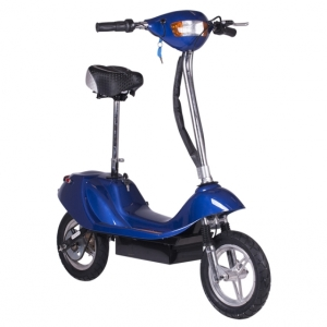 350 Watt Electric Scooter X-370 - Blue 2