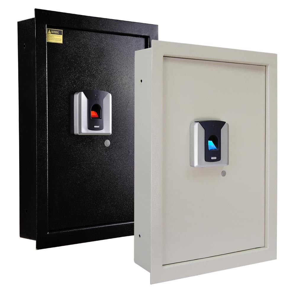 Biometric Fingerprint Wall Safe for Security