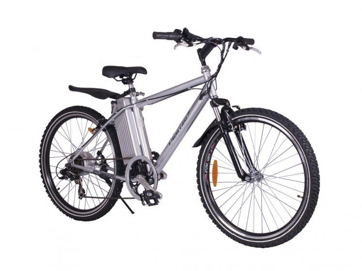 alpine trails electric mountain bicycle