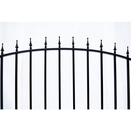 Munich Style Single Swing Steel Driveway Gate Image 2