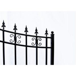 St. Petersburg Style Single Swing Steel Driveway Gate Image 4