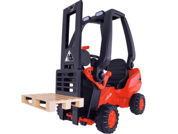 Big Linde Pedal Forklift 2