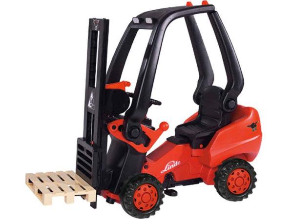 Big Linde Pedal Forklift 3
