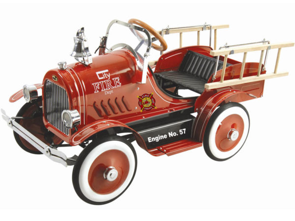 Kalee Deluxe Fire Truck Pedal Car