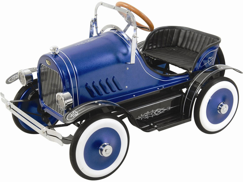 Kalee Deluxe Roadster Pedal Car Blue Or Pink