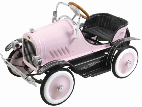 Kalee Deluxe Roadster Pedal Car - Pink
