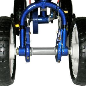 Quadra Pedal Byke - Silver 5
