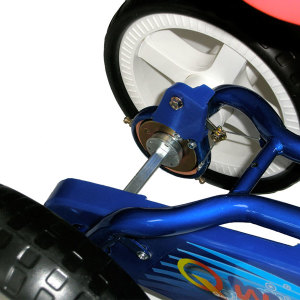 Quadra Pedal Byke - Silver 6