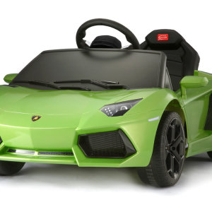 Kids Lamborghini Power Wheel Green