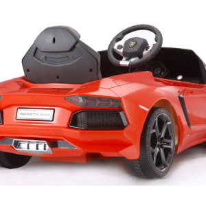 Kids Lamborghini Power Wheel Orange 2