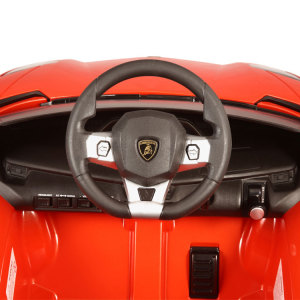 Kids Lamborghini Power Wheel Orange 3