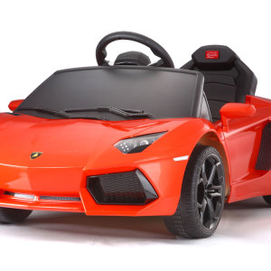 Kids Lamborghini Power Wheel Orange