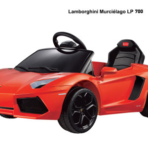 Kids Lamborghini Power Wheel Orange 5