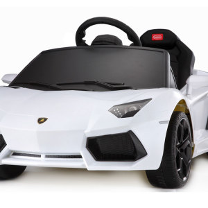 Kids Lamborghini Power Wheel White