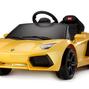 Kids Lamborghini Power Wheel Yellow