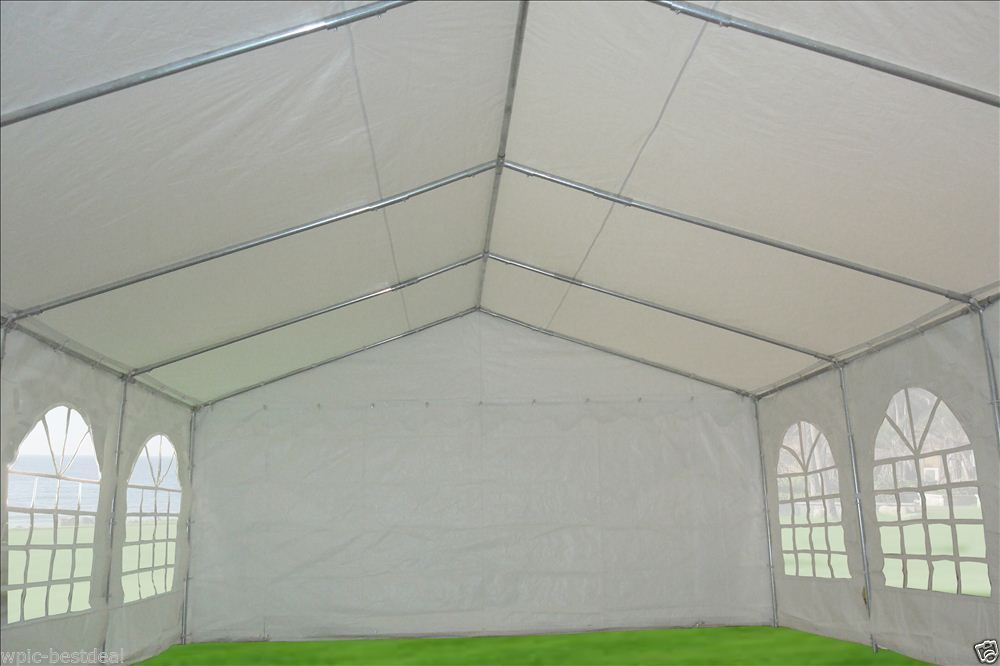 32 X 16 White Pvc Party Tent Canopy