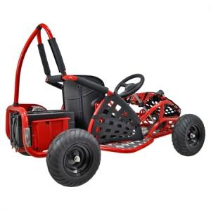 Baja Kids Electric Go Kart 1000w - Red 2