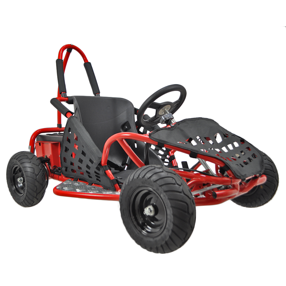 Baja Kids Electric Go Kart 1000w on electric motor chain