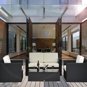 4 Piece Outdoor Wicker Sofa Patio Set 3