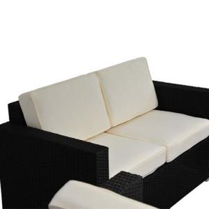 4 Piece Outdoor Wicker Sofa Patio Set 8