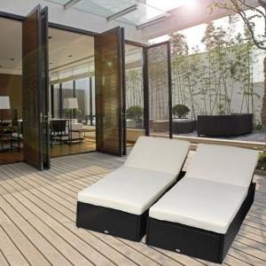 9 Piece Outdoor Wicker Sectional Sofa Set 3