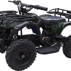 Kids Sonora Electric ATV Mini Quad Green Camo