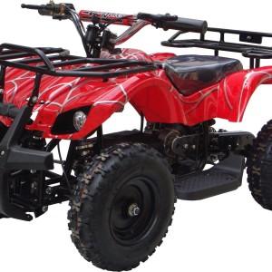 Kids Sonora Electric ATV Mini Quad Red Spider