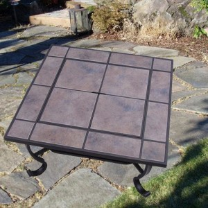 32 Inch Square Outdoor Metal Fire Heat Pit 5 - 5972-2121