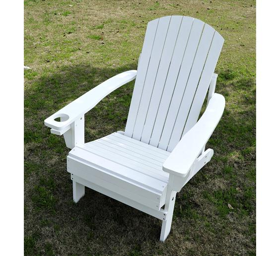 adirondack outdoor patio lounge chair white. Black Bedroom Furniture Sets. Home Design Ideas