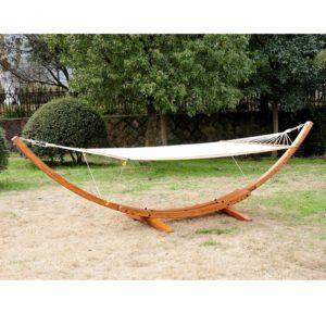 Cypress Wooden Arc Hammock - 5662-0118M NEW 2