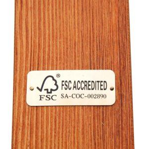 Cypress Wooden Arc Hammock - 5662-0118M NEW 6