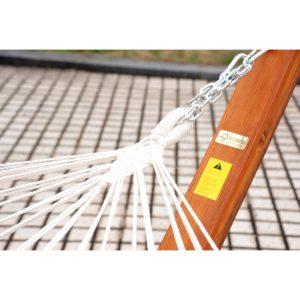 Cypress Wooden Arc Hammock - 5662-0118M NEW 7