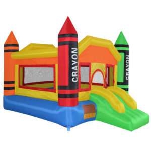 Mini Crayon Bounce House Inflatable Jump Castle 2