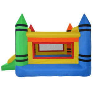Mini Crayon Bounce House Inflatable Jump Castle 3