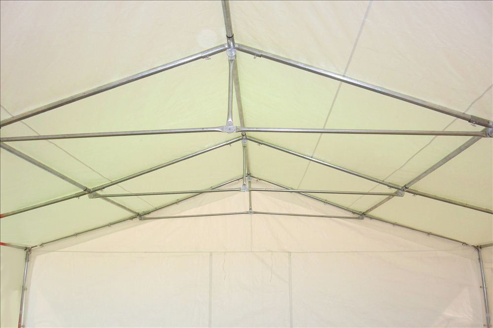 26 X 16 Heavy Duty White And Blue Party Tent