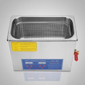 6 Liter Stainless Steel Digital Ultrasonic Cleaner 10