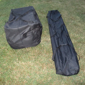 20 x 40 PVC Pole Tent Canopy Carrying Case 2